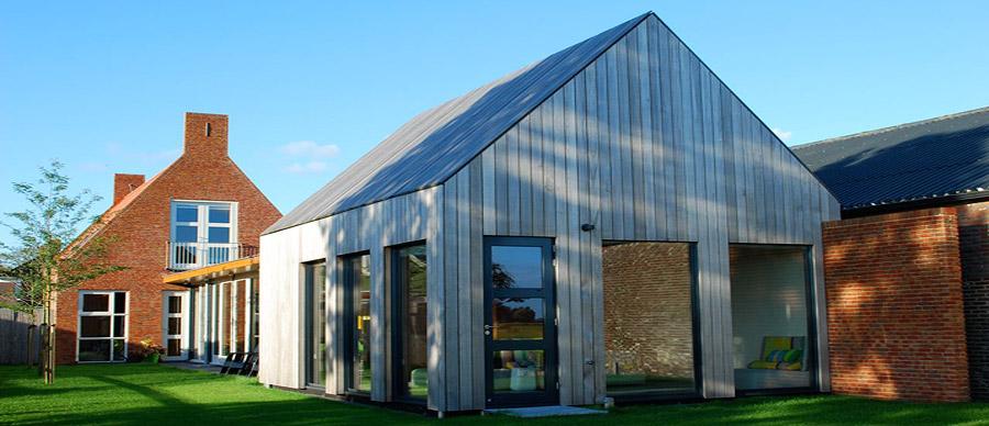 Klapwijk houtbouw arkenbouw houtconstructies for Bijzondere woningen